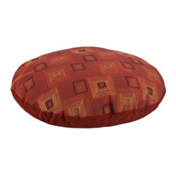 "Rena Cinnabar 36"" Round Pet Bed - Rena Cinnabar 36"" Round Pet Bed"