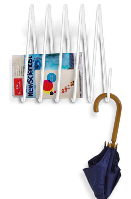 contemporary hooks and hangers by 2Modern