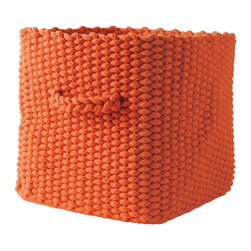 Knitted Storage Basket - These come in several colors. I think they are beautifully designed.