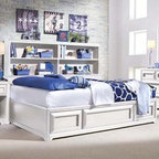 Bestsellers - Lea Elite Reflections 4/6 Full Platform Storage Bed 876-924 by Lea Industries