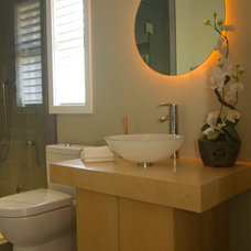 Asian Bathroom by Cirrus Homes