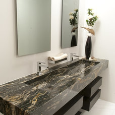 Contemporary Bathroom by Da Vinci Marble