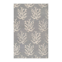 Somerset Bay - Somerset Bay Escape Hand Tufted Wool Rug X-3533-4103PSE - The Escape collection by Somerset Bay for Surya includes sophisticated rugs in beautiful coastal-inspired palettes. These hand tufted rugs feature patterns of Starfish, Coral, and Whimsical Seaweed. One look at this collection of rugs and you are transported to a calming coastal retreat, bringing to mind that feeling of summers spent in the sun and surf. Whether you are decorating your own coastal cottage, or just want that coastal feel in your home, any rug from this collection will be the perfect choice.