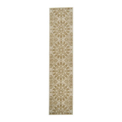Safavieh - Safavieh Martha Stewart Transitional Terraza Hand Hooked Cotton Rug X-4-B2641RSM - Reminiscent of the classic Byzantine tile motifs that served as its inspiration, Terrazza is a fresh, inviting look reinterpreted with a soft new color palette. This graceful pattern is rendered in a cut-and-loop weave in China in the purest cotton for casual interiors. Available in Stucco, Seaside and Shale.