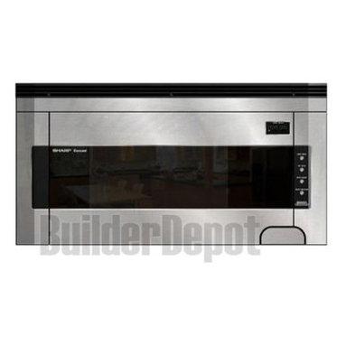 Sharp - 1.5 CF OTR Microwave - Features: