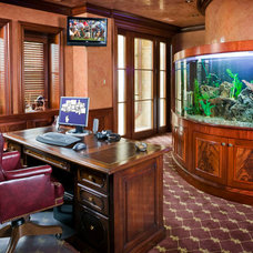 Traditional Home Office by Electronics Design Group, Inc.