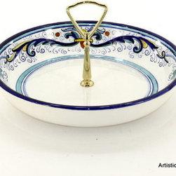 Artistica - Hand Made in Italy - Vecchia Deruta: Tid-Bit Shallow Bowl - Artistica's Exclusive!
