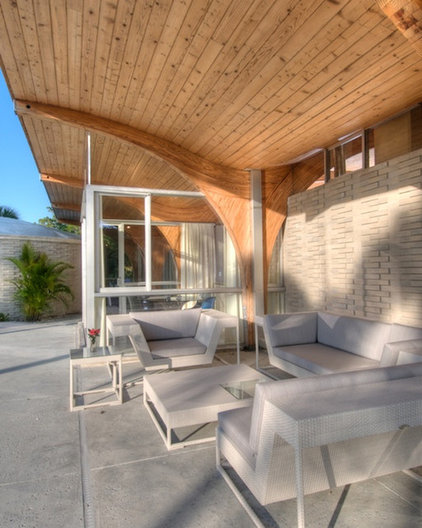 contemporary patio Herron House