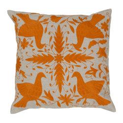"Surya - Surya 18 x 18 Decorative Pillow, Cobble Stone and Golden Ochre (LD023-1818P) - Surya LD023-1818P 18"" x 18"" Decorative Pillow, Cobble Stone and Golden Ochre"