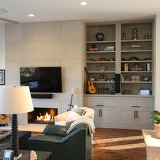 Transitional Living Room by Hatfield Builders & Remodelers