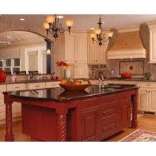 Mediterranean Kitchen Cabinetry by Main Line Kitchen Design