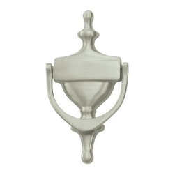 Deltana - Victorian Solid Brass Door Knocker (Polished Brass) - Finish: Polished Brass. Includes knocker with fastener. Victorian door knocker. Solid brass. Pictured in Satin Nickel. Center to center: 6.25 in.. 7 in. L x 3.5 in. W