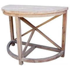 traditional side tables and accent tables by My Sparrow