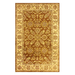 nuLOOM - Traditional 8' x 10' Brown Hand Tufted Area Rug Persian - Made from the finest materials in the world and with the uttermost care, our rugs are a great addition to your home.