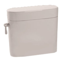 Toto - Toto ST794E#12 Sedona Beige Eco Nexus Toilet Tank Only, 1.28 GPF - Utilizing an oval-shaped, flared design and a sleek, simplistic style, the Nexus line is a sophisticated addition to any decor.