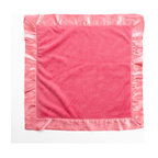Simplicity Hot Pink - Binky Blanket - Binky Blanket is designed in pink minky fabric and trimmed in our pink satin.