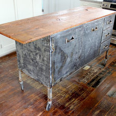 Eclectic Kitchen Islands And Kitchen Carts by LA SALVAGE