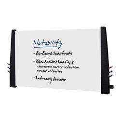 Iceberg - Iceberg 60 x 36 Collaboration Boards Dry-Erase Board - 37551 - Shop for Dry Erase Boards from Hayneedle.com! The Iceberg 60 x 36 Collaboration Boards Dry-Erase Board - Black has a modern look and is ultra high functioning. This dry-erase board features blow-molded high-density polyethylene end caps that provide perfect storage for markers and erasers. The durable board is easy to hang and has a modern style perfect for today's contemporary offices. Available in black or charcoal.About Iceberg EnterprisesIceberg Enterprises floated to the surface when two entrepreneurs acquired a former product line from Rubbermaid and decided to expand on the possibilities of blow-molded high-density polyethylene. They created Iceberg a complete line of super-durable easy-to-maintain office products and accessories like nothing seen before. Located in Illinois and Michigan this American company has quickly become one of the largest products of resin folding tables shelving chairs conference tables and more. When you're looking for a high-quality product that you can count on every single time look no further. There's always more to an Iceberg.