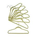 Proman Products - Proman Products Velvet Plastic Huggable Suit Hanger Chrome Hook in White - Velvet plastic huggable suit hanger, chrome hook in white. 100 PCS/Box. Price per case
