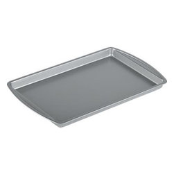Nonstick Baking Sheet - Heavy gage steel baking sheet provides even, professional-quality baking, with a nonstick finish for quick release of foods and easy clean-up.