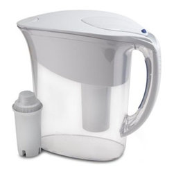 Brita - Brita Atlantis Water Filtration Pitcher - Great tasting water doesn't have to come from a bottle. With this simple water filtration system, you can have great tasting water anywhere, anytime.