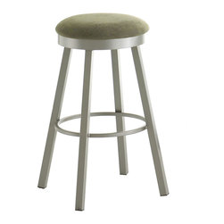 Amisco - Amisco Connor Backless Swivel Stool 42493, 30 Inches (Bar Height) - Amisco