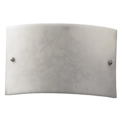 Quorum International - Quorum 5700-65 Faux Stone Sconce-Stn - Quorum 5700-65 Faux Stone Sconce-Stn