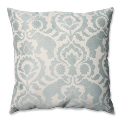 Pillow Perfect Babar Elephant Serenity Throw Pillow -