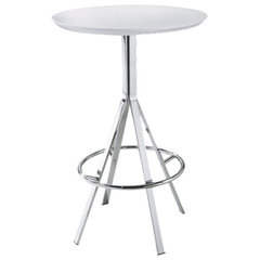 modern bar tables Bistro Bar Table By Bellini Imports