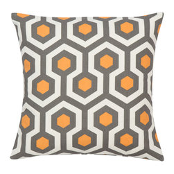 Look Here Jane, LLC - Magna Cinnamon Pillow Cover - PILLOW COVER