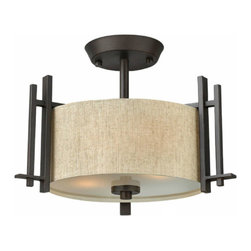 Post Modern Iron And Flax Recessed Lighting -