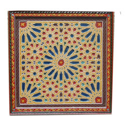 Home & Ceiling Decor - Large Beautiful Luxurious High End Hand Painted Moroccan Ceiling Decor.