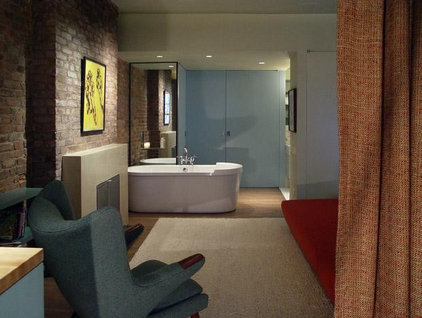Contemporary Bathroom by Architecture in Formation, P.C.