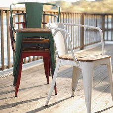 Traditional Outdoor Lounge Chairs by Pottery Barn