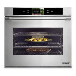 "Dacor - DYO130S Discovery iQ 30"" Single Electric Wall Oven with 4.8 cu. ft. Convection O - With another industry first Dacors Discovery iQ Wall Oven blends technology and performance to deliver a unique cooking experience The integrated and intuitive Android interface provides home chefs with access to the proprietary Dacor iQ Cooking App ..."
