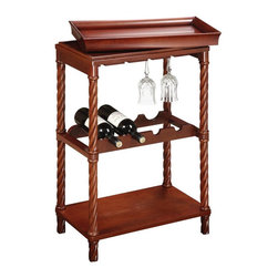 Sterling Industries - Piccadilly Wine Cart - Piccadilly Wine Cart
