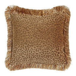 """Horchow - Dakari 20"""" Fawn Pillow - MULTI COLORS - Dakari 20"""" Fawn PillowDetailsAnimal-print decorative pillow.Handcrafted of rayon/polyester.Brush-fringe finish.20""""Sq.Made in the USA."""
