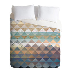 DENY Designs - Kei Ibrox Duvet Cover - Turn your basic, boring down comforter into the super stylish focal point of your bedroom. Our Luxe Duvet is made from a heavy-weight luxurious woven polyester with a 50% cotton/50% polyester cream bottom. It also includes a hidden zipper with interior corner ties to secure your comforter. it's comfy, fade-resistant, and custom printed for each and every customer.