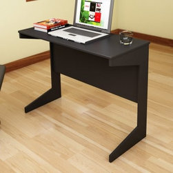 Sonax Slim Workspace Desk - Midnight Black - The Sonax Slim Workspace Desk - Midnight Black is a perfect addition to any home needing a little extra workspace. The transitional wood design assembles in minutes creating a great spot for your computer, tablets, or notebooks, if you're old school. The compact design is small enough to easily tuck out of the way but large enough for nights of studying and paperwork.