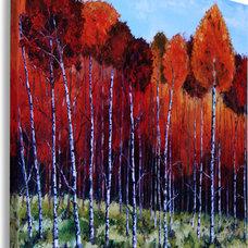 Modern Artwork by Original Palette Knife Paintings by Lisa Elley