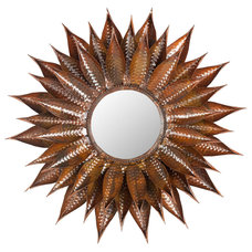 One Kings Lane - Mirrors, Accents & Lighting - Sunflower Mirror