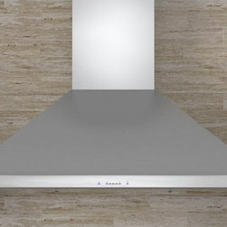 Zephyr - Zephyr 30W in. Siena Wall Mounted Range Hood Multicolor - ZSI-E30AS - Shop for Hoods and Accessories from Hayneedle.com! The Zephyr 30W in. Siena Wall Mounted Range Hood provides a variety of options to best service your kitchen. This wall-mounted range hood is supported by a sturdy stainless steel frame and is intended for installation with ceilings between 8- and 12-feet high (to keep the intake surface at the desired 26- to 34-inches above the cooking surface). A built-in blower is included powered by a centrifugal motor and available in your choice of either: 290CFM (with three speeds) 390CFM (four speeds) 650CFM (five speeds). Once the surrounding air has been siphoned into the blower a set of stainless steel baffle filters helps purify the air together removing excess heat grease vapors smoke steam odors and more. The filters are dishwasher safe for easy maintenance. A 5-minute automatic delay-off helps conserve energy. Two 50W halogen bulbs are included for illumination.About ZephyrSince 1997 Zephyr has remained true to their vision of delivering the unexpected. Founder Alex Siow embraced the idea that a kitchen hood could do much more than vent air it could be as distinctive in its design as in its performance. Zephyr was first to recognize the demand for powerful professional-grade hoods for the home that were also beautiful. They answered the call with their Power Series of high CFM range hoods that put air quality concerns to rest with quiet efficiency. Zephyr raised the bar with self-cleaning filter-free technologies. Their solid reputation for well-construction high-powered range hoods is matched by their style and design. Fashion-forward and inspired their lines of range hoods include original works from renowned designers Robert Brunner Fu-Tung Cheng and David Lewis.