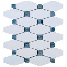Transitional Mosaic Tile by AKDO