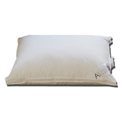 A1 Home Collections - Jumbo 1.5-inch Gusset Hypoallergenic Microfiber Pillows (Set of 2) - Perfect for side sleepers, these pillows feature a 1.5-inch gusset that accomodates more filling. A comfy cotton cover and supportive microfiber fill ensure a healthy night's sleep. Great as additional cushioning while reading or watching TV, these medium-firm pillows are machine washable for your convenience.