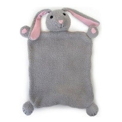 Apple Park - Apple Park Bunny Picnic Pal Blankie - Take your Picnic Pal Blankie for a friend on the go! Snuggle or play with their soft 100% organic cotton bodies, silk noses and naturally hypoallergenic filling.  Nose & Ears: natural silk and hemp blend  Fur: 100% organic cotton  Filling: sustainable corn fiber & 100% organic cotton fiber  Packaging: 100% recycled paper printed with soy ink