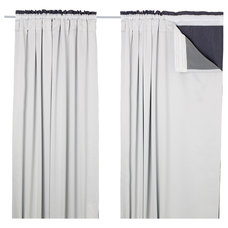Contemporary Curtains by IKEA