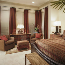 Traditional Bedroom by Decorating Den Interiors
