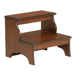 Butler Specialty - Butler Specialty Step Stool -1922024 - Butler products are highly detailed and meticulously finished by some of the best craftsmen in the business.