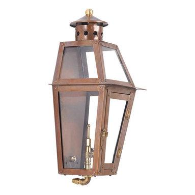 ELK - Elk Lighting 7940-WP Outdoor Gas Wall Lantern Grand Isle Collection - Outdoor Gas Wall Lantern Grand Isle Collection In Solid Brass With An Aged Copper Finish
