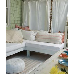 eclectic  Shabby Chic Outdoors